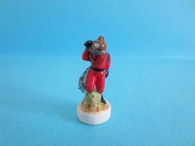 Fine Porcelain Miniature Diver With Helmet Rare On Ebay, So Nice *mint*