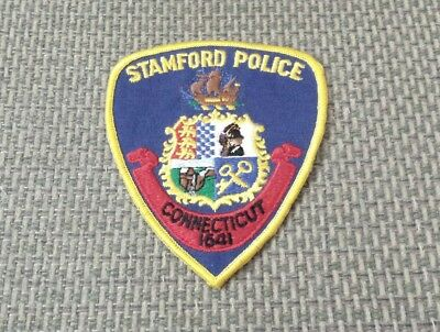 Stamford Connecticut Police Shoulder Patch