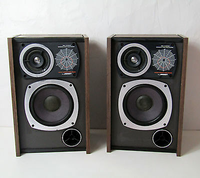 RARE Paire d'enceintes Bose Syncom Computer Tested Speaker vintage