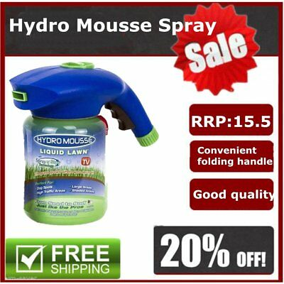 Professional Home Garden Lawn Hydro Mousse Household Hydro Seeding Syst GT