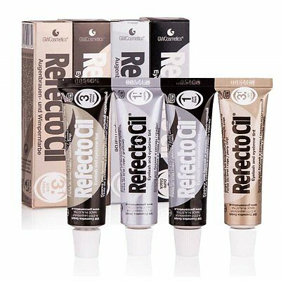 Refectocil Professional Eyelash Eyebrow Beards Tint Hair Cream Dye Henna 4 Color