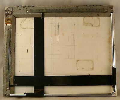 PZO Technical Drawing Table, Engineer's Drawing Board Vintage 18x24