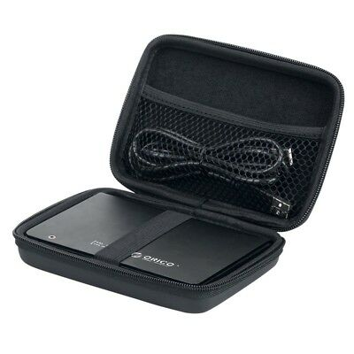 "Black 2.5"" External Hard Disk HDD Carry Case Cover Pouch Bag For External HDD"