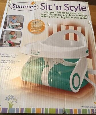 Summer Sit n Style Baby Booster Seat Highchair
