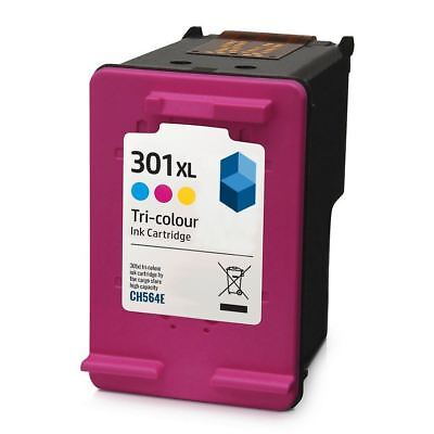 HP TriColour 301 XL Ink Cartridge - Remanufactured for with HP Printers