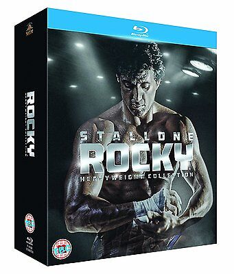 Rocky : Heavyweight Collection (6 Discs) - Sylvester Stallone - New Blu-Ray