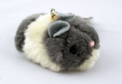 Small Pull A Tremble Hamster Grey and White
