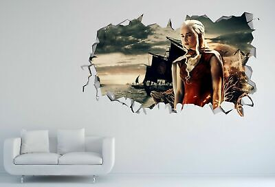 Game of Thrones Smashed 3D Wall Decal Wallpaper Sticker Decor Art Vinyl DA177