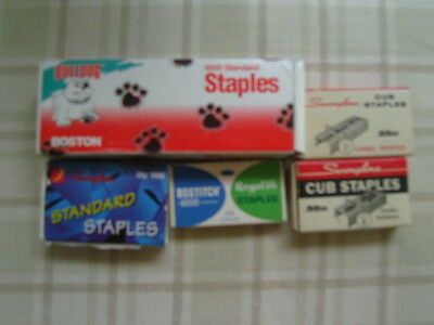 Assorted Staples Most Boxes Full Or Almost Full