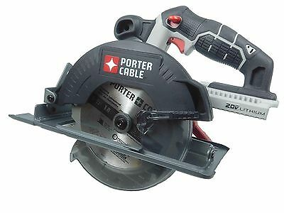 "Porter Cable PCC660 Circular Saw lithium 20V Max Cordless 6 1/2"" Bare Tool"