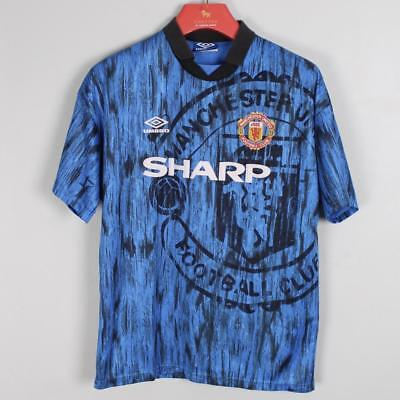 Manchester United 1992 1993 Away Football Shirt Jersey Size Large L