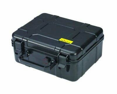 Cigar Caddy 40 40Cigar Waterproof Travel Humidor Black Matte