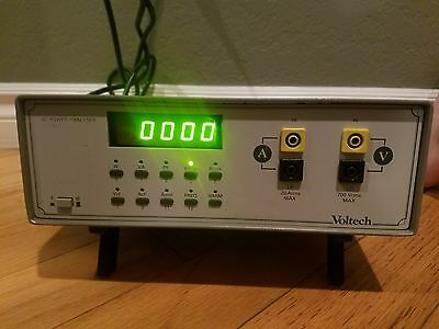 Voltech/Tektronix PM1000 Power Analyzer/Analyser/Meter/Wattmeter
