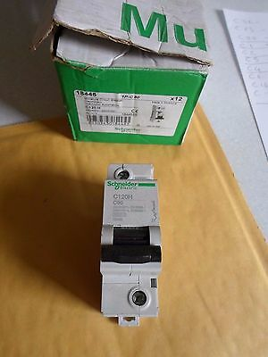 Schneider C120H C80 80 Amp (18446) Single Pole 15Ka Mcb Circuit Breaker
