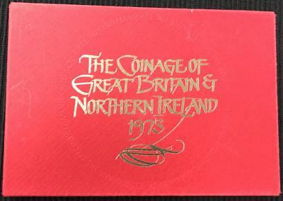 1973 The Coinage Of Great Britain And Northern Ireland Proof Coin Set