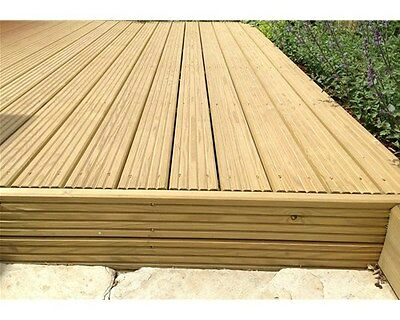 Used decking timber boards approximately 34 no m for Cheap decking boards uk