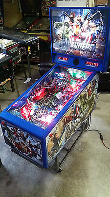 "avengers ""The Pin"" Pinball"