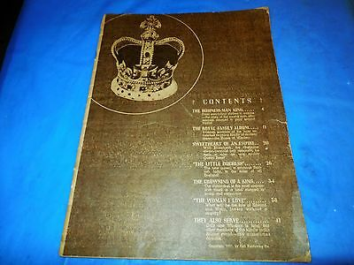 """1937 The Royal Family """"the Business Man King"""" Original Magazine By Dell!!!"""