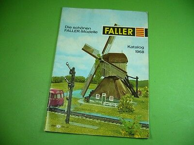 611KS1 Alter FALLER Katalog 1968: Häuser, Flugzeuge, A M S, Club Racing, N-Bus