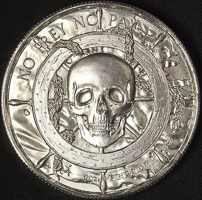 Privateer 2 Ounce Silver Round - Ultra High Relief - Free Shipping USA