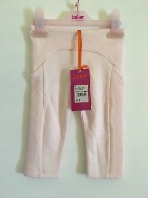 Baby Ted Baker Girls Trousers Leggings Age 3-6 Months