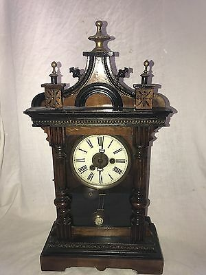 Phillip Haas German Stunning Ornate Clock P H&S with R=A Pendulum