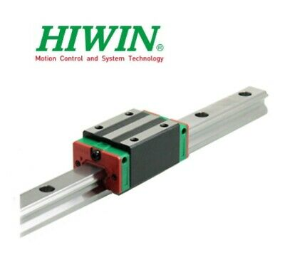 New Hiwin HGH20CAZAC Square Block Linear Guides HGH20 Series up to 4000mm Long
