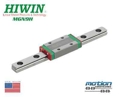 New Hiwin MGN9H Linear Guides MGN Series Linear Bearings / 30mm to 1190mm Long