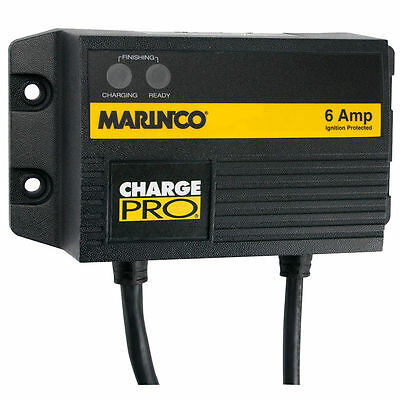 Marinco 6A  On-Board Battery Charger 12V 1  28106