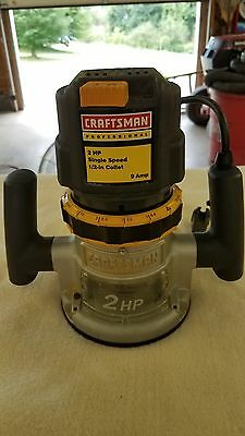 Sears Craftsman 1/2 Inch  Router