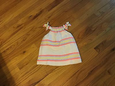Girls babyGap dress size 3-6 months sleeveless with bows