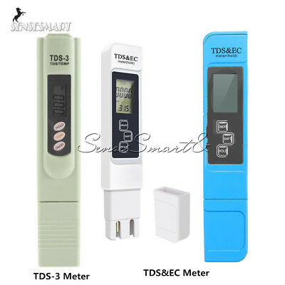 Digital Portable TDS Pen Meter Filter Measuring Water Quality Purity Tester