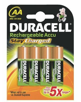 Duracell StayCharged Akku AA (HR06) 2.400 mAh Mignon Blister 4