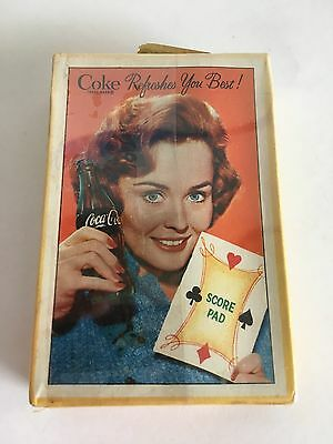 Vintage 1961 COCA COLA Playing Cards sealed