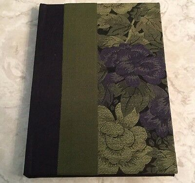 Molly West Handbound Books Made From Scratch Address Book Fabric/Ribbon Cover