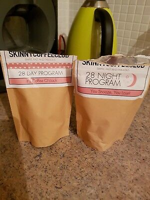 skinny coffee club 28 day morning and night program