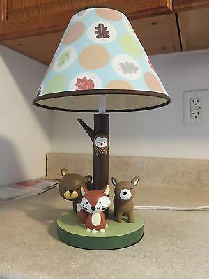 Carters Forrest Friends Lamp