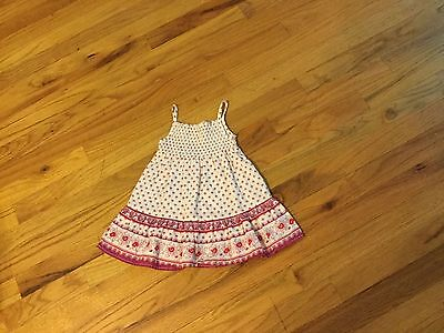 Girls Old Navy dress size 6-12 months sleeveless with flowers