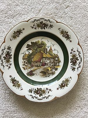 Ascot Service Plate Decorative Wall Plate By Wood & Sons, England