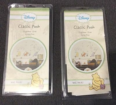 New Together Time Disney Classic Pooh Winnie The Pooh Self stick Wall Decals