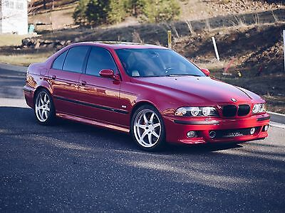 2001 BMW M5  2001 E39 M5 Dinan S2 SN2045 Imola Red / Luxury on Titanium