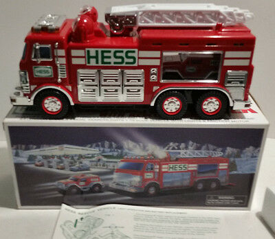 2005 Hess Emergency/ Fire Truck with Rescue Vehicle NEW MIB