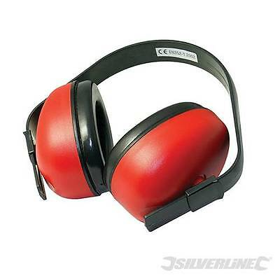 Silverline Ear Defenders / Muffs - Safety Gear Plugs Protection Builders DIY