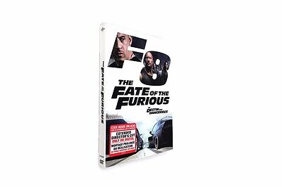 The Fate Of The Furious (Dvd,2017) Usa Seller