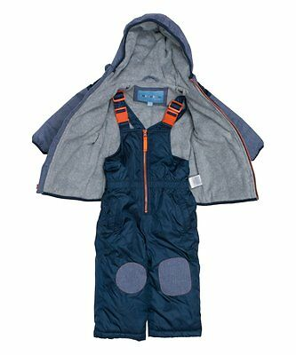 NEW Wippette  infant snowsuit snow suit jacket and ski bib 12 months