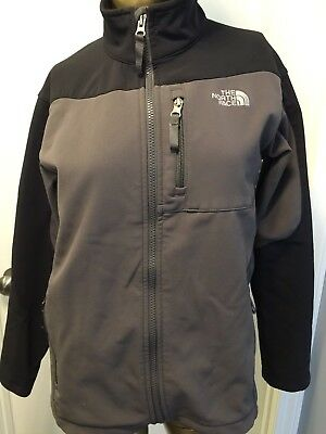 Kid's The North Face Full Zip Soft Shell Jacket - Size Large 14/16