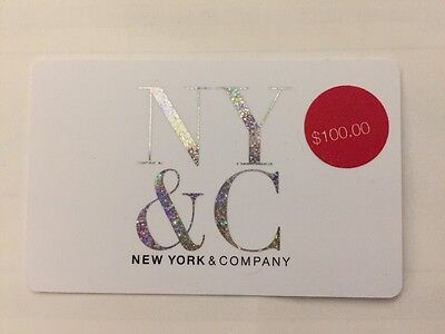 NEW YORK & CO Gift card $100