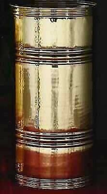 umbrella holder umbrella holder TUBE in polished brass MANUFACTURE MADE in ITALY