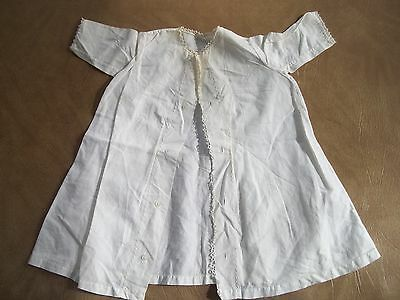 Vintage Baby Button Up Gown Dress