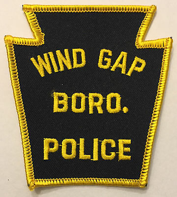 Wind Gap Borough Northampton County Pennsylvania Police Sheriff Patch